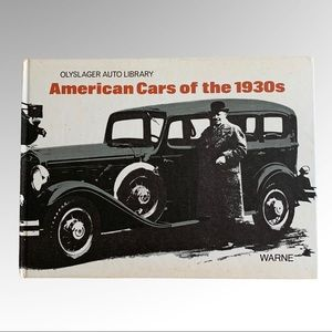 American Cars Of The 1930 (Olyslager Auto Library)